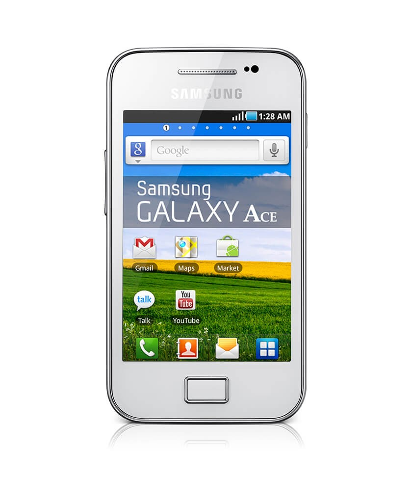 Samsung GT-S5830i Galaxy Ace Pure White