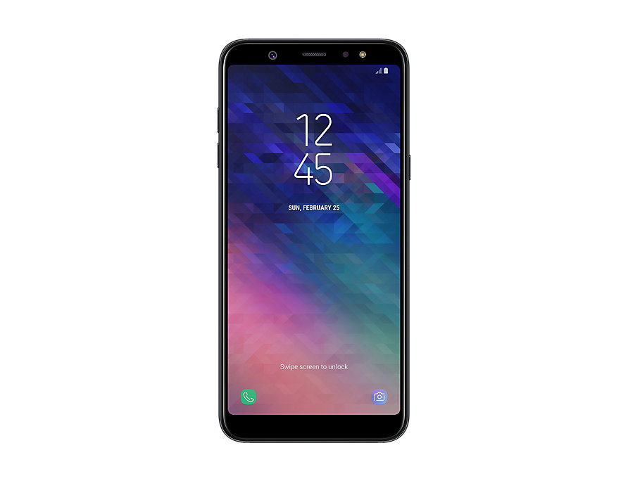 Samsung SM-A600FN/DS Galaxy A6 2018 Black